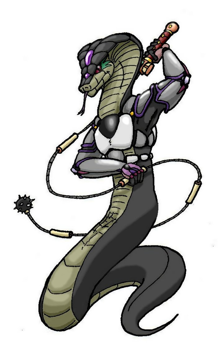 Snake_warrior____with_colors_by_Chibibass