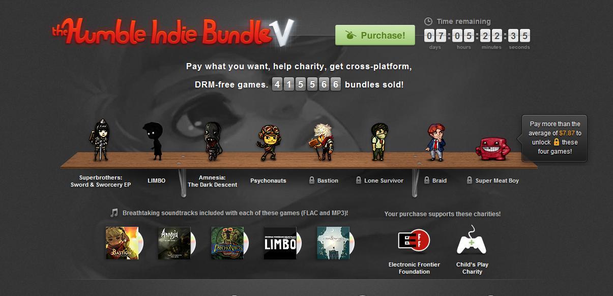 Humble Indie Bundle V