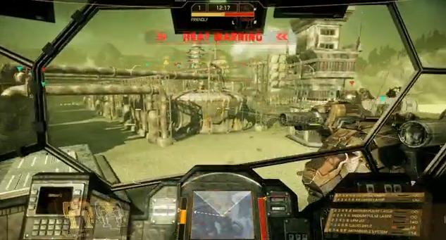 MechWarrior Online's Caustic Valley trailer