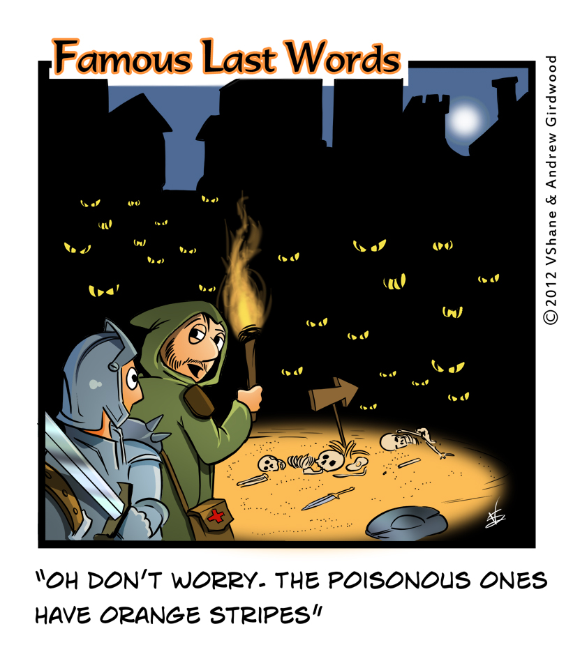 Famous Last Words Friday: Don't Worry