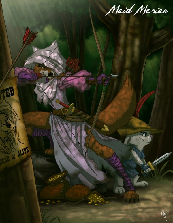 Twited Maid Marian