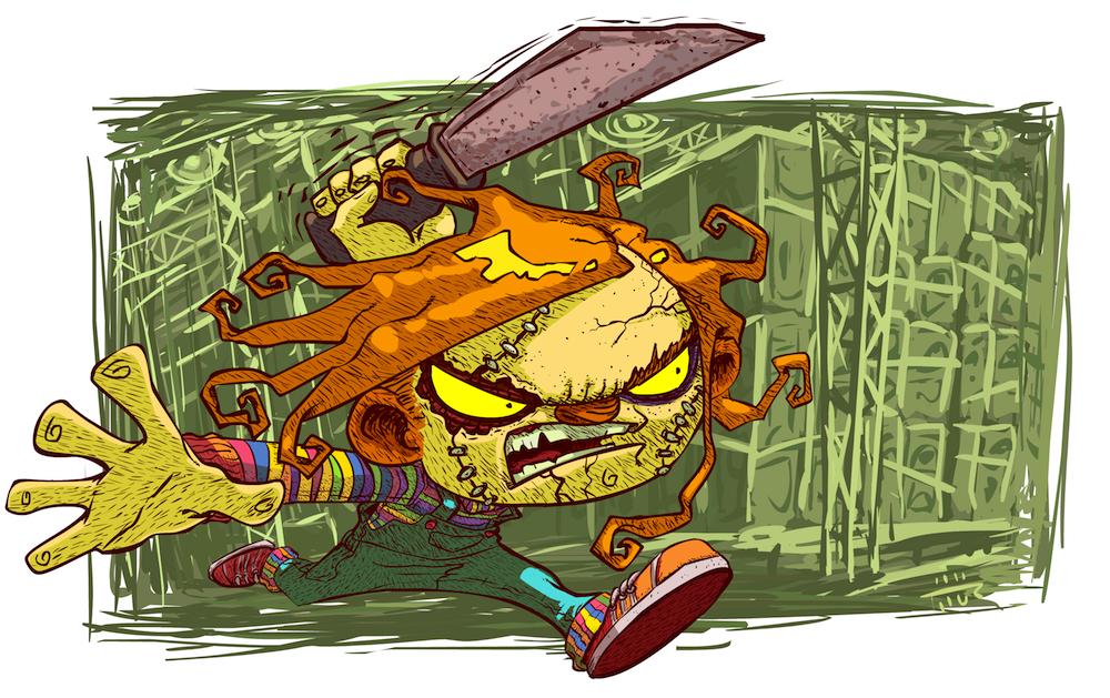 Cartoon Chucky