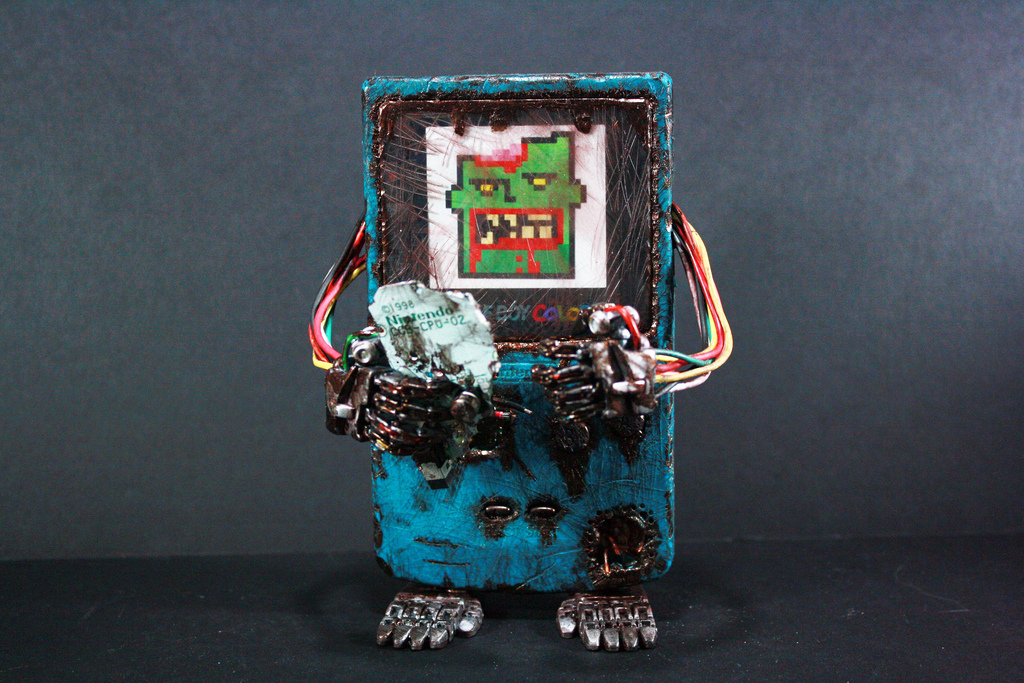 Zombie Gameboy Color 1