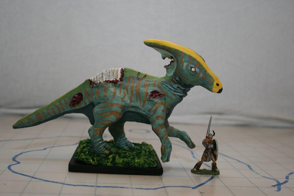 Zombie Hadrosaur