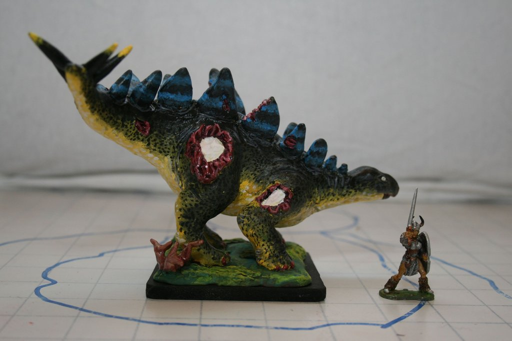 Zombie Stegosaurus