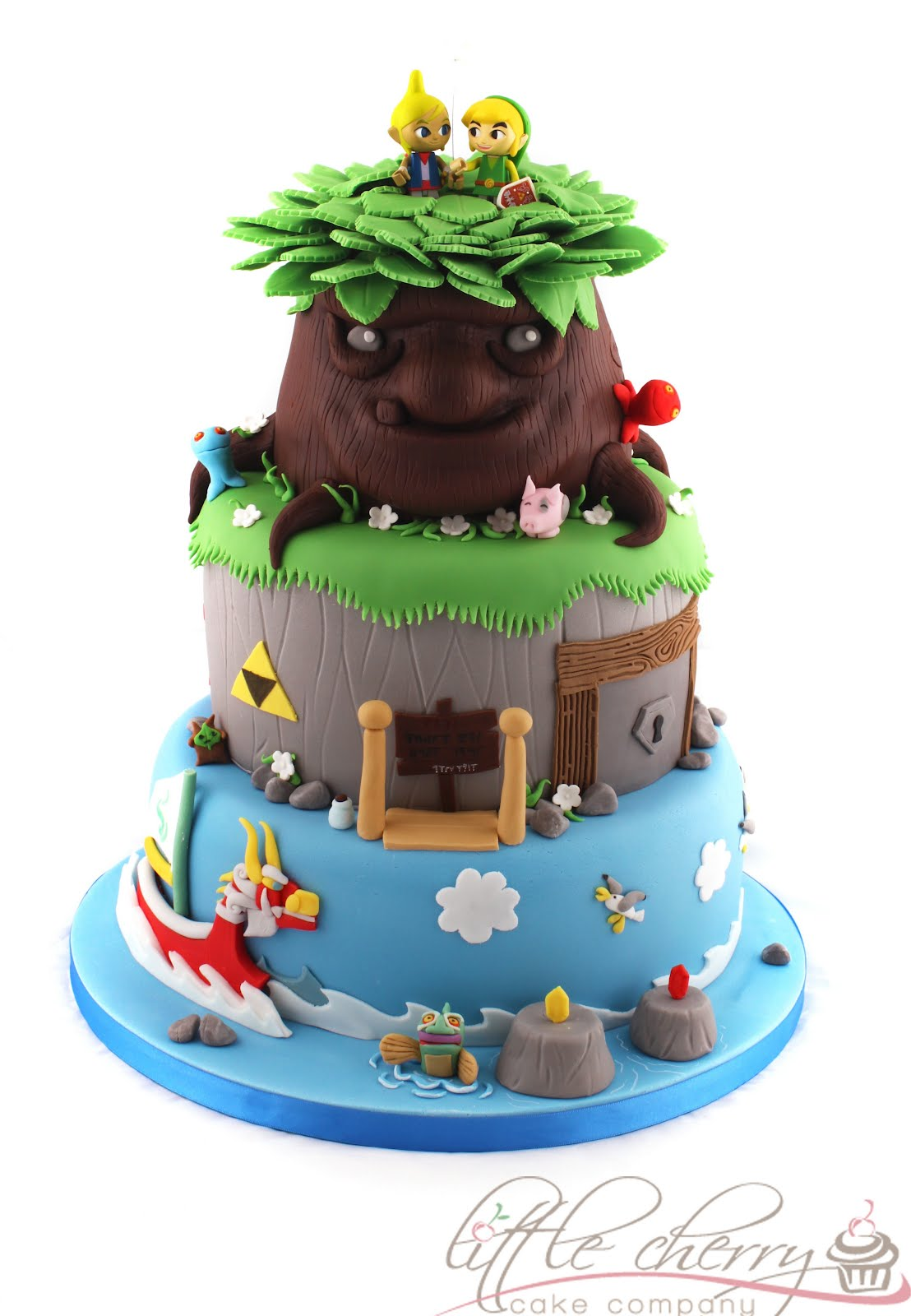 Legend of Zelda: The Wind Walker cake