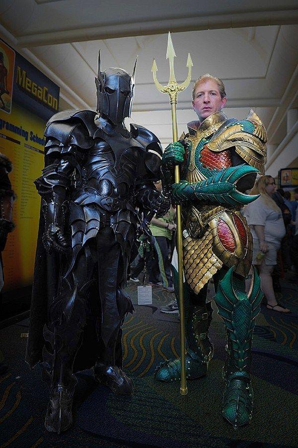 armour batman and aquaman