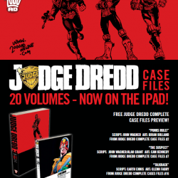 Free preview: 20 volumes of Judge Dread for your iOS tech