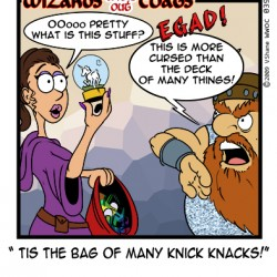 Wizards without Coats: Knick Knacks