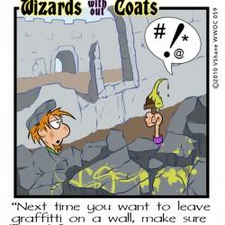Wizards without Coats: Graffiti