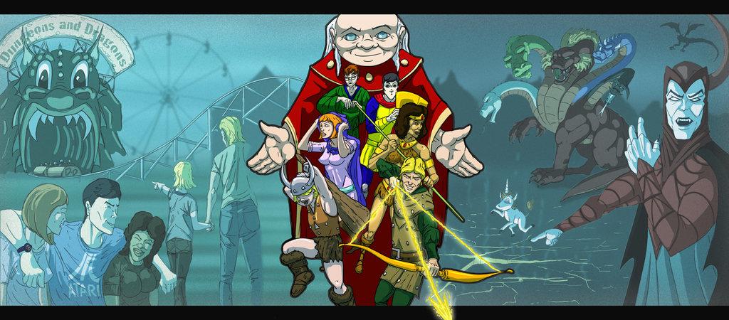 dungeons_and_dragons_cartoon_by_juggertha-d46kfyj