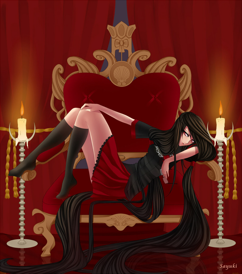 Sauki's Blood-C And Saya