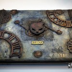 Steampunk Laptop cover 2