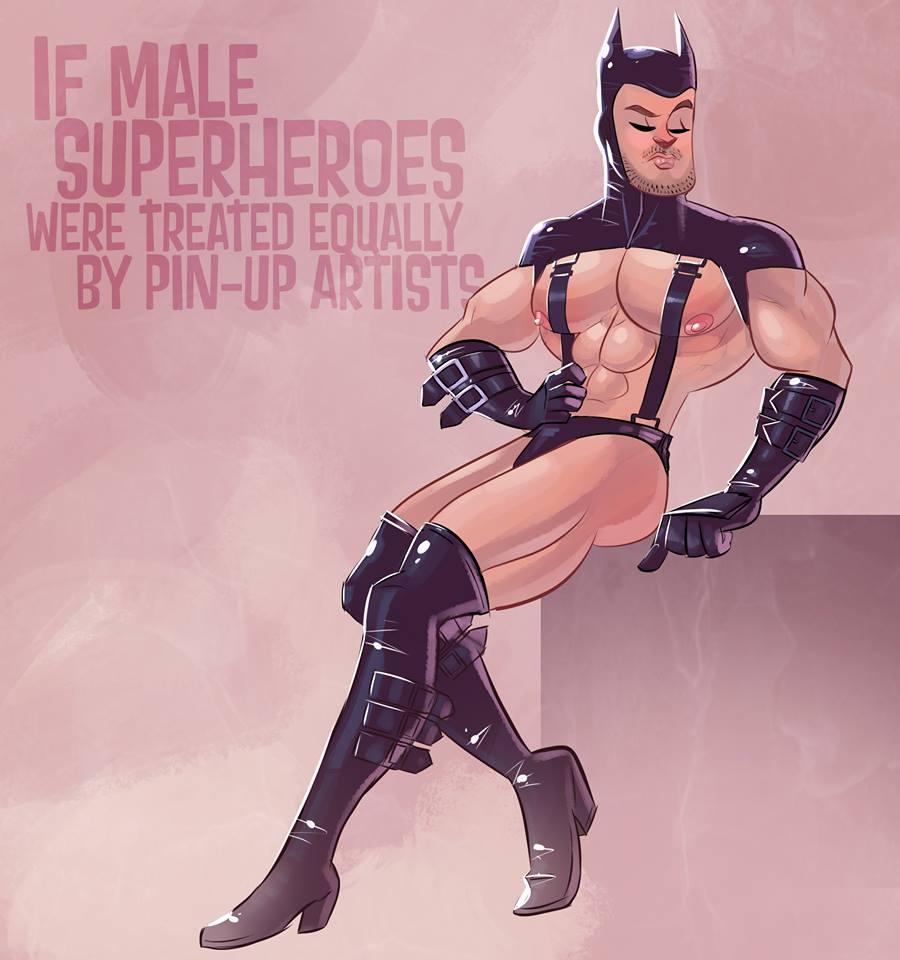 naked male superheroes videos