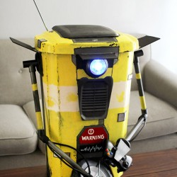 Clap for the Claptrap trashcan