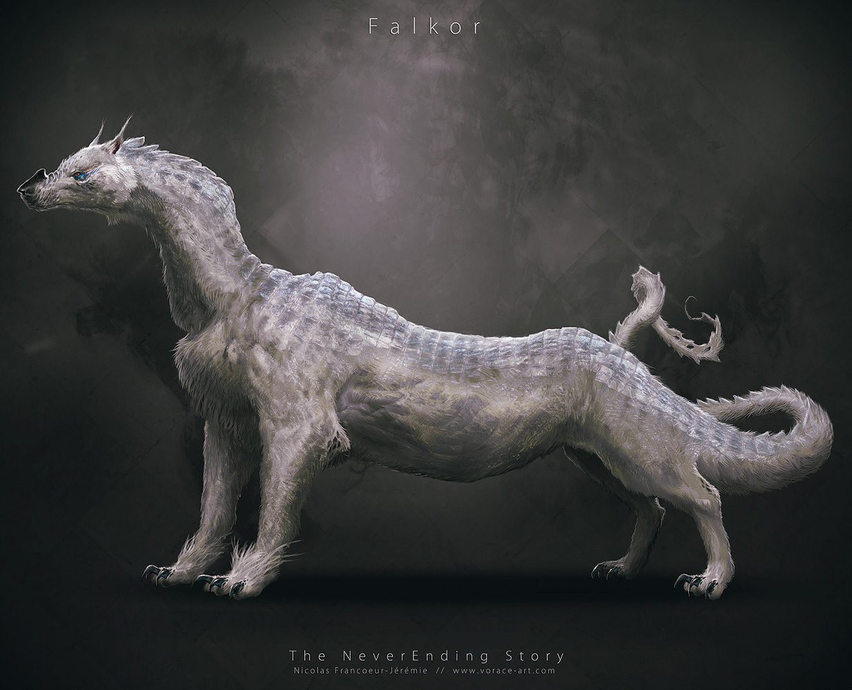 Neverending_Story_Concept_Art_Redesign_Falkor