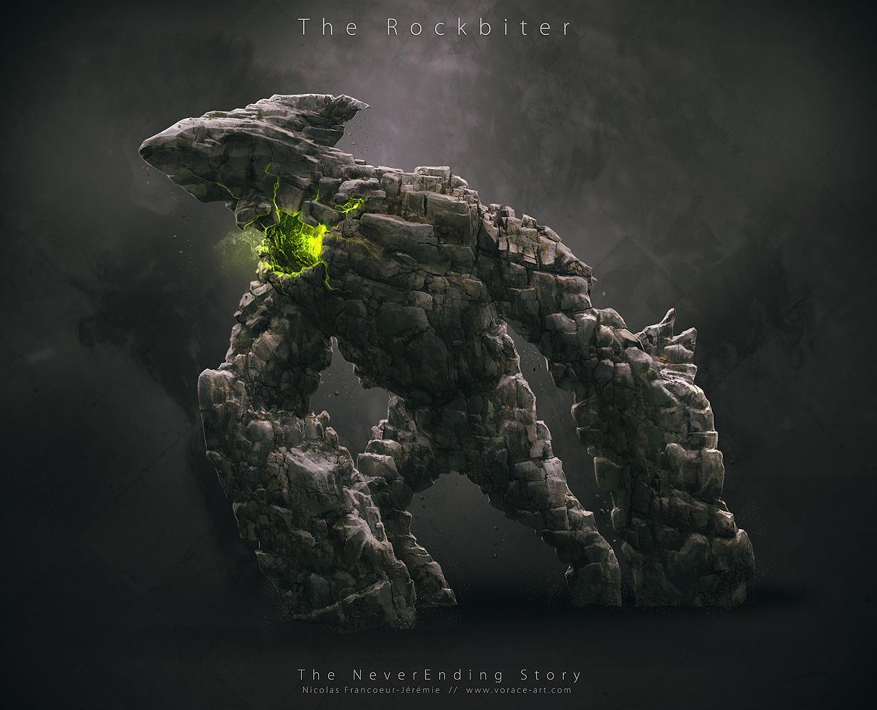 Neverending_Story_Concept_Art_Redesign_The_Rockbiter