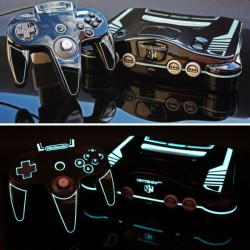 Custom made Tron Legacy Nintendo 64