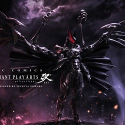 Final Fantasy character designer remakes Batman