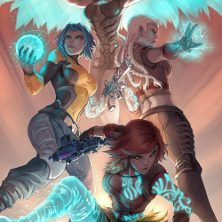 Drake Tsui's bold art channels anime and western influences