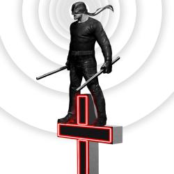 John Aslarona's Daredevil tribute poster