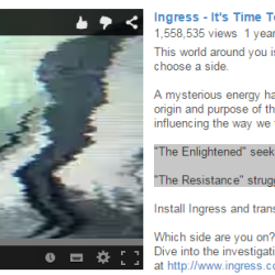 Are Google's Ingress writers messing up the Resistance?