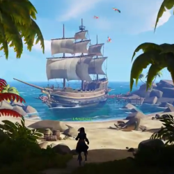 Shared world adventure in Sea of Thieves