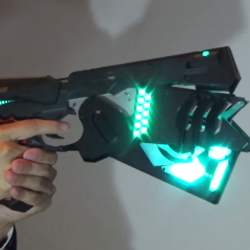 Made real: The gun from Psycho-Pass stuns