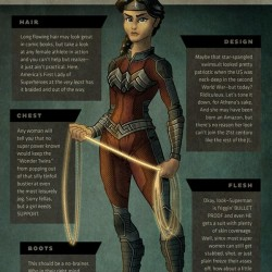 Superhero Week: Artist reimagines superheroines with practical costumes