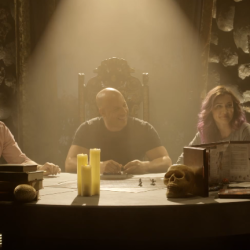 "Vin Diesel in a D&D adventure as ""The Last Witch Hunter"""