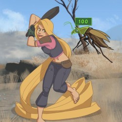 Fallout Disney princesses are rad