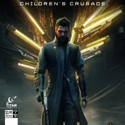 Callout cover: Deus Ex #1 variants