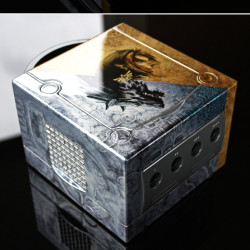 A custom made Zelda Twilight Princess Gamecube