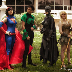 Cosplaying the Femme Justice League