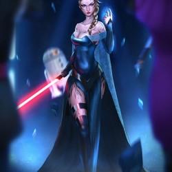 Frozen Star Wars mash-up