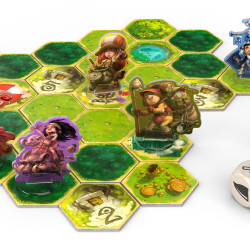 Heldentaufe is a clever board game of two halves