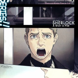 Titan Comics announces Sherlock Manga series