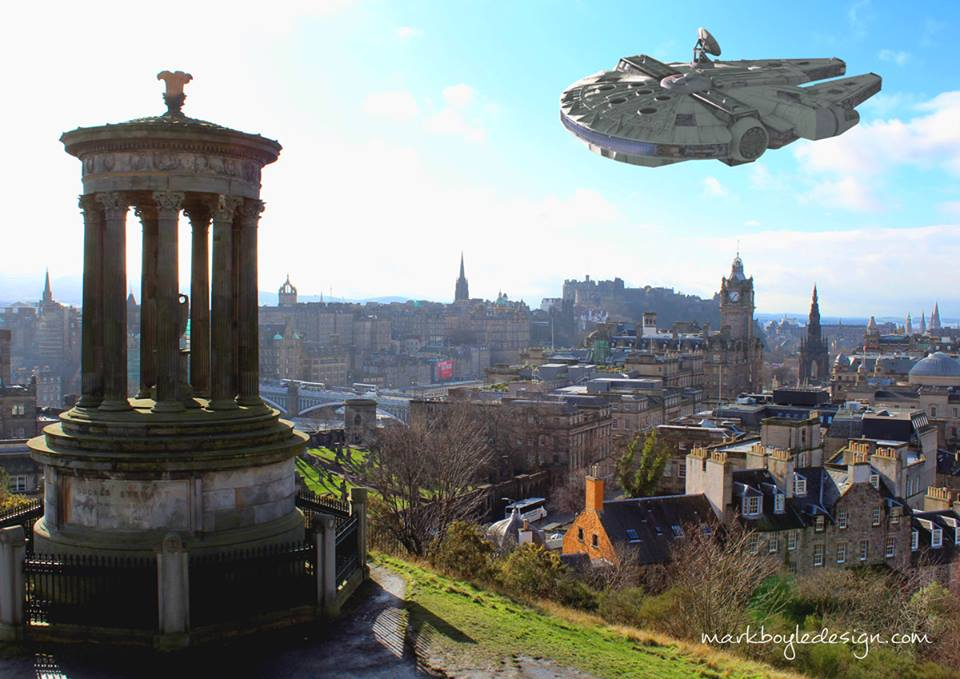 Star Wars in Edinburgh 1