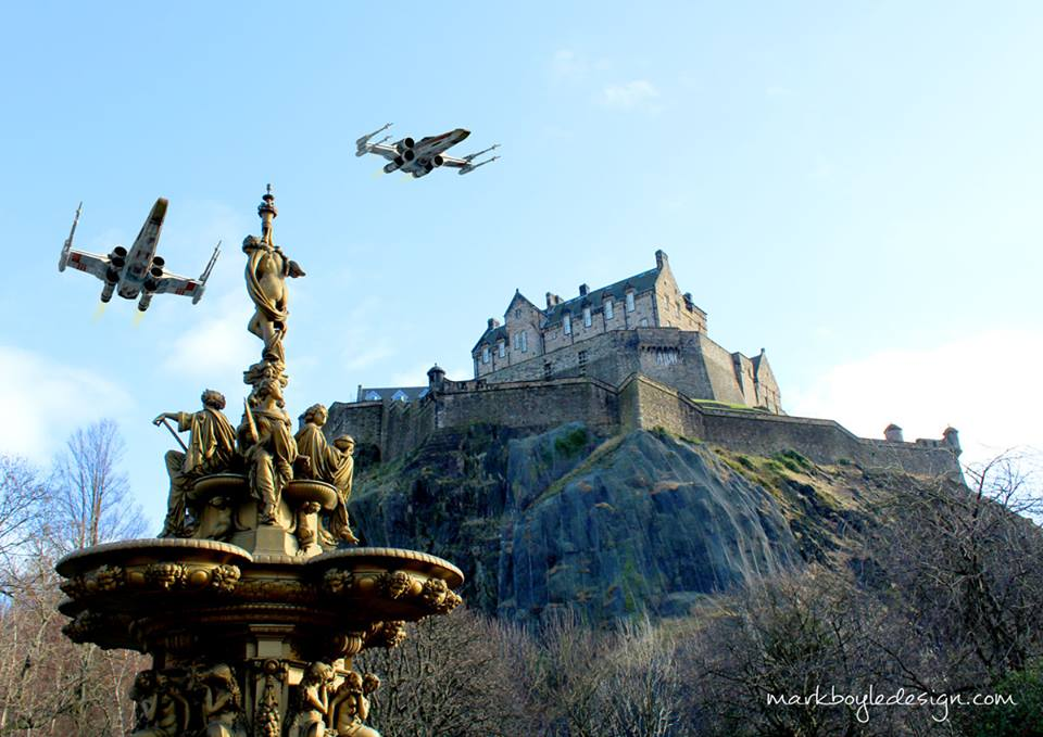 Star Wars in Edinburgh 2