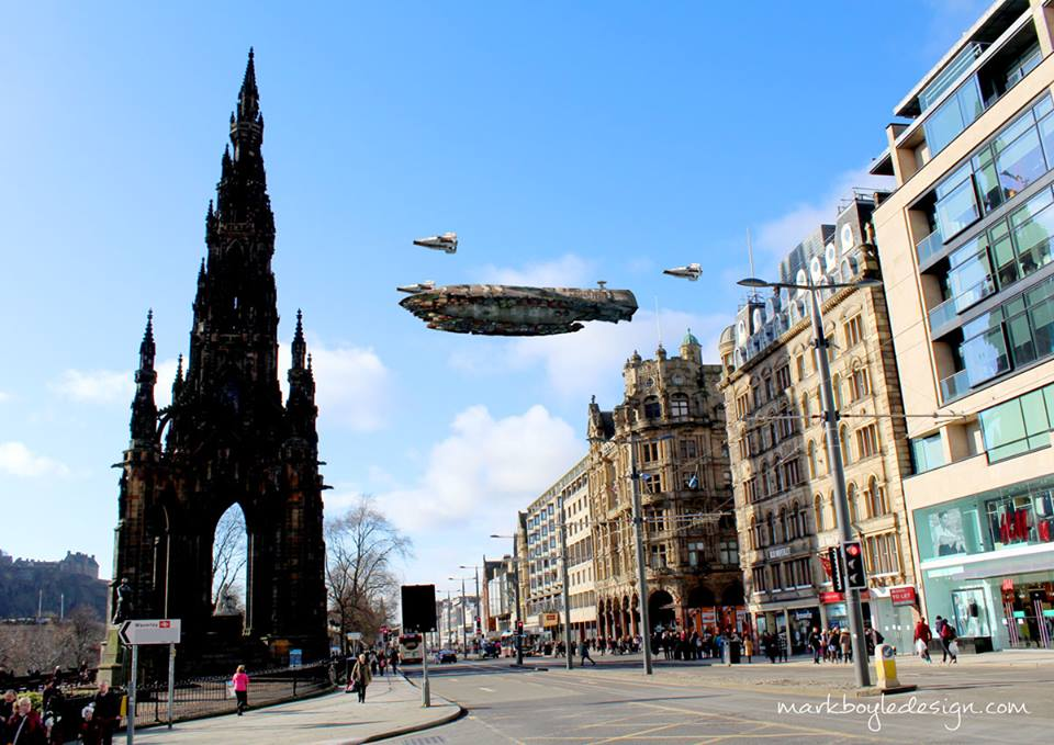 Star Wars in Edinburgh 9