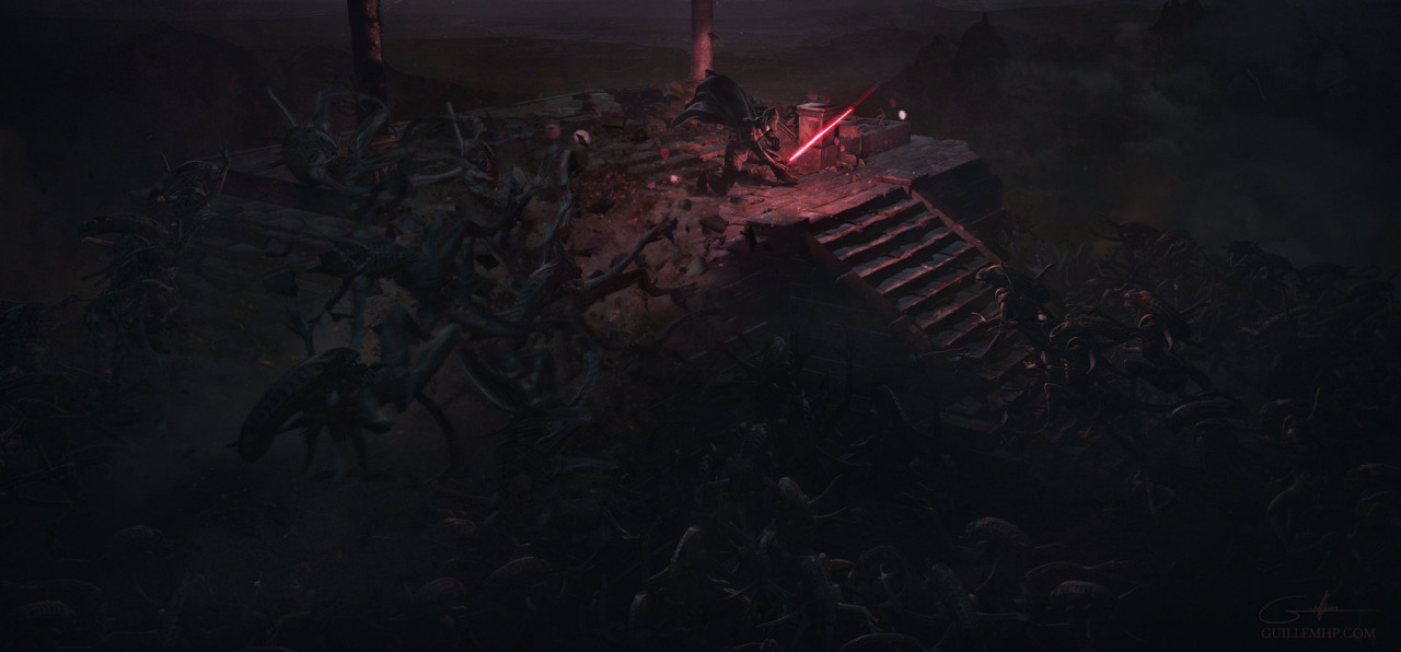 501 Stormtroopers vs Aliens by Guillem H Pongiluppi 2