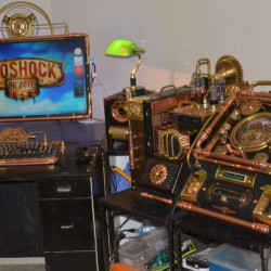 Steampunk casemods inspired by BioShock