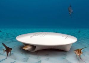 Genesis biopod sleep with the fishes underwater coffin for Davy jones locker fishing