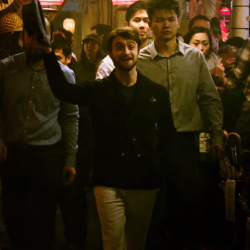 Daniel Radcliffe as a magical thief in the Now You Can See Me 2 trailer
