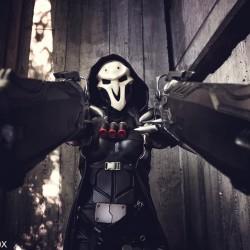 Overwatch cosplay: Reaper