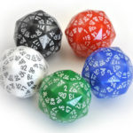 Mathematically this is as many sides dice can have