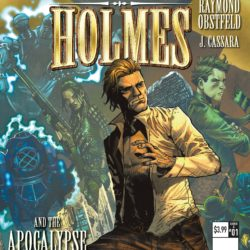 Mycroft Holmes and the Apocalypse Handbook covers