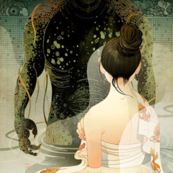 Chinese fairy tale art from Victo Ngai