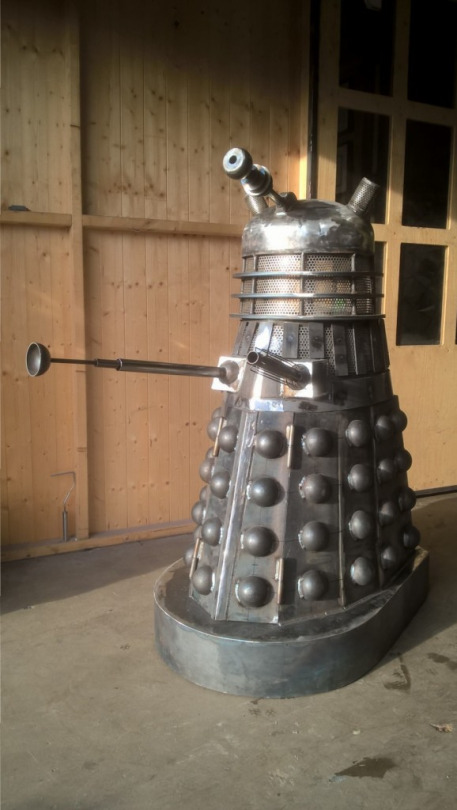 Dalek Woodburner 1