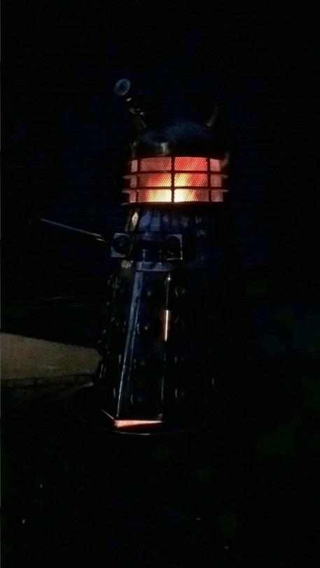 Dalek Woodburner 3